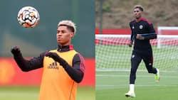 Marcus Rashford announces return from injury with brace for Man United
