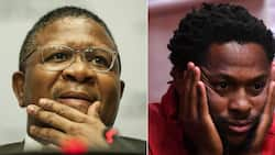 LOL: Mbalula hilariously claps back at Ndlozi, shares pic of him in a bath towel