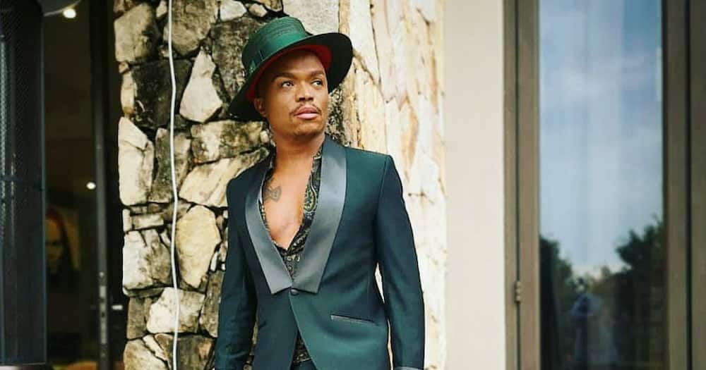 Somizi claps back at troll coming at him sideways for his bank balance