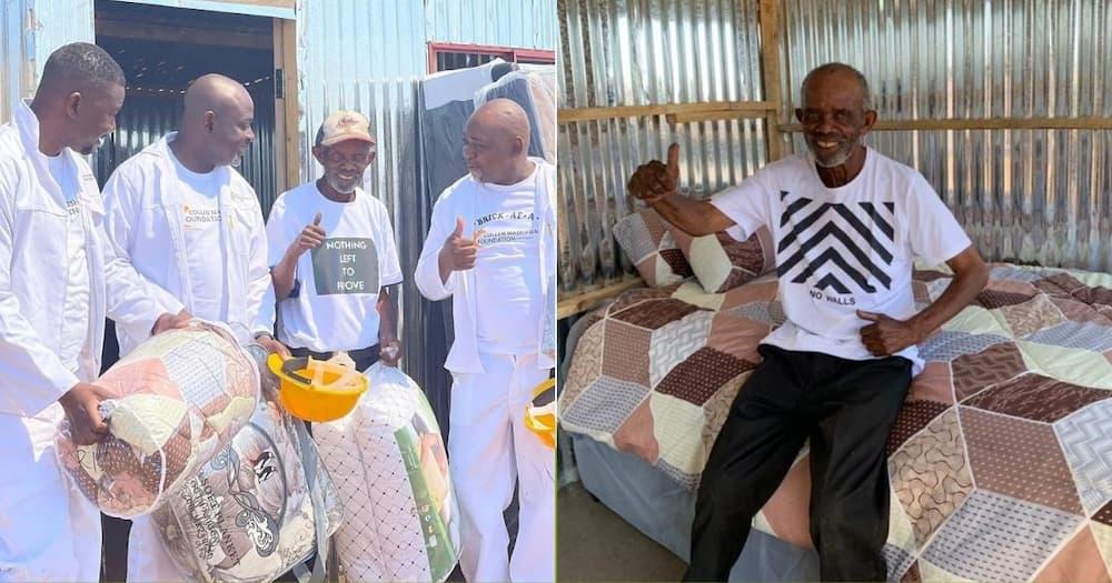 Collen Mashawana, Blesses, Happy Madala, Temp Home