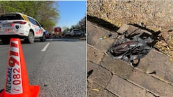 """""""Terrible"""": JHB cyclist crushed to death by drunk taxi driver, he tries to flee"""