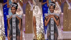 """""""Our forever Miss Universe"""": Zozibini Tunzi gracefully hands over the crown"""