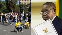 Blade Nzimande responds to SAUS' demands as national protests continue