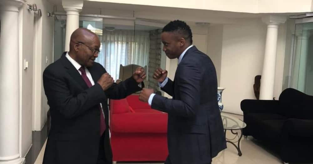 Duduzane hints at political career: Voices support for Jacob Zuma