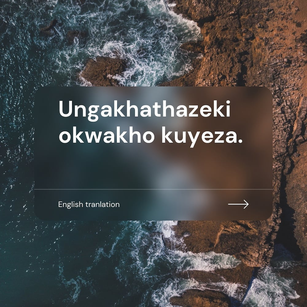 50 of the most renowned Zulu proverbs