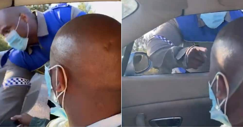 Video of Traffic Cop Slapping Bentley Driver Has Mzansi Shook