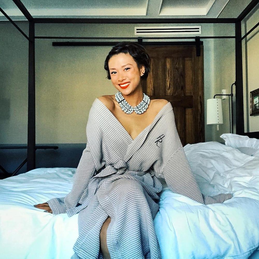 Anson's wife Darah Trang