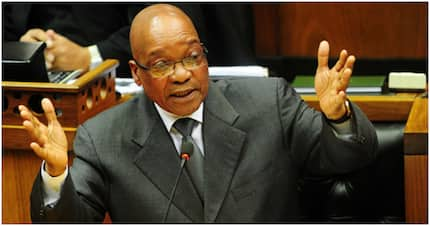 Zuma was barely on Twitter before having to refute fundraising scam