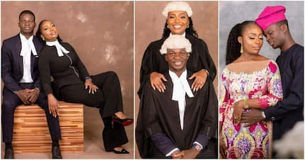When two lawyers are in love: Beautiful pre-wedding photos of Tosin and Ibukun