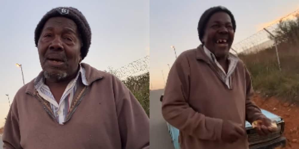 Man Thinks He's Being Hired For a Job, Ends up Getting Free Groceries From BI Phakathi