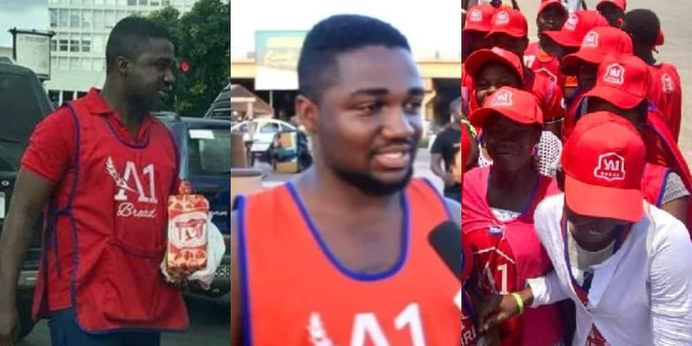 Meet Godfred Boateng the CEO of top bread company who started selling on the streets
