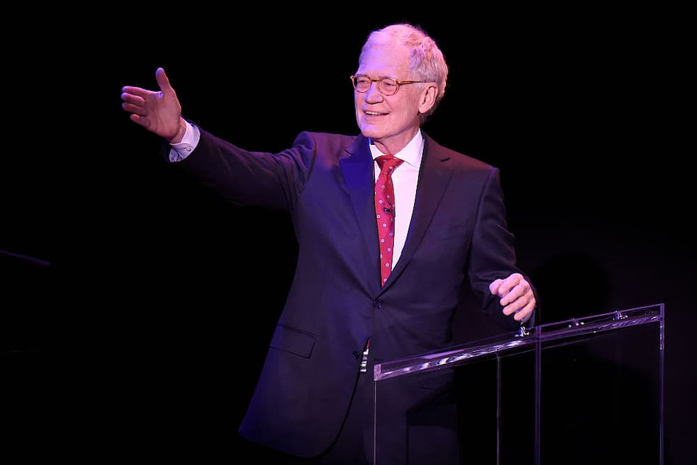David Letterman's wealth