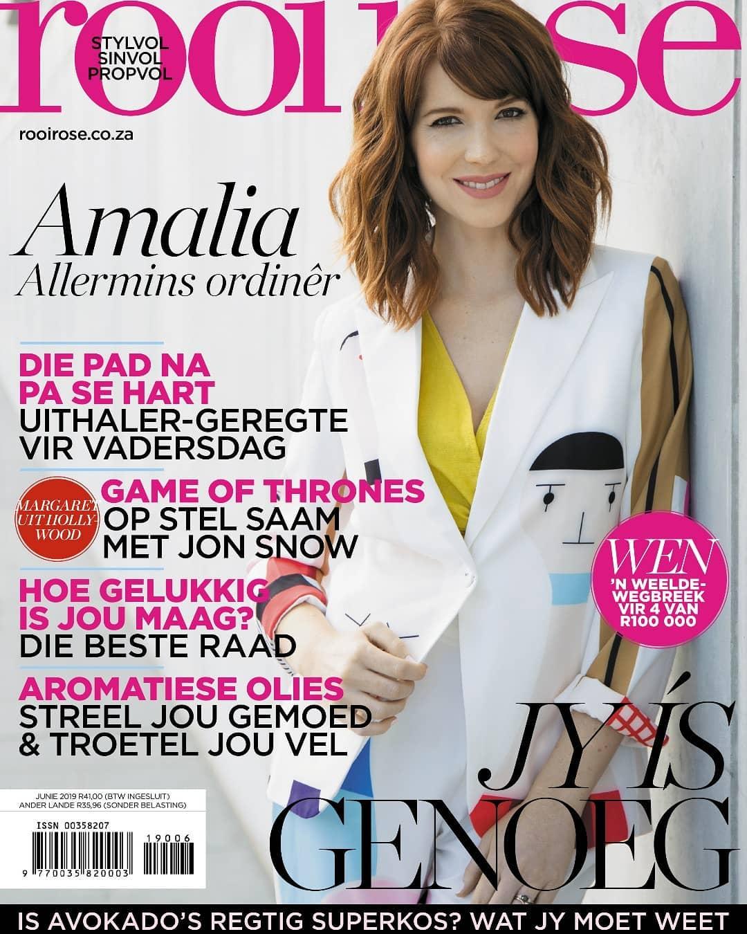 Amalia Uys amalia uys age, husband, wedding, parents, education, tv