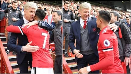 Man United star Alexis Sanchez gives Wenger a surprise gift after EPL clash