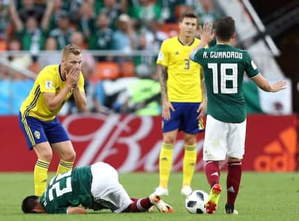 Sweden finish as Group F leaders following 3-0 victory over Mexico