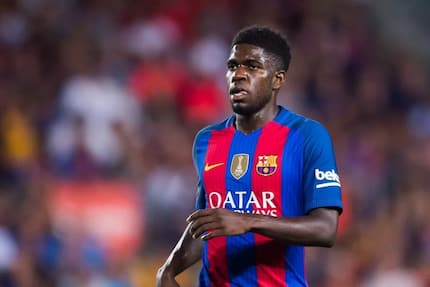 Messi says Barcelona lost because Umtiti was distracted by Manchester United's interest
