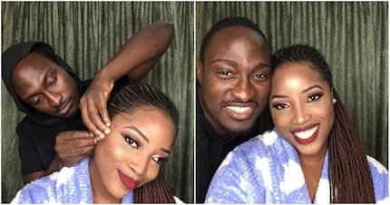 Man does makeup for his girlfriend, receives accolades on social media