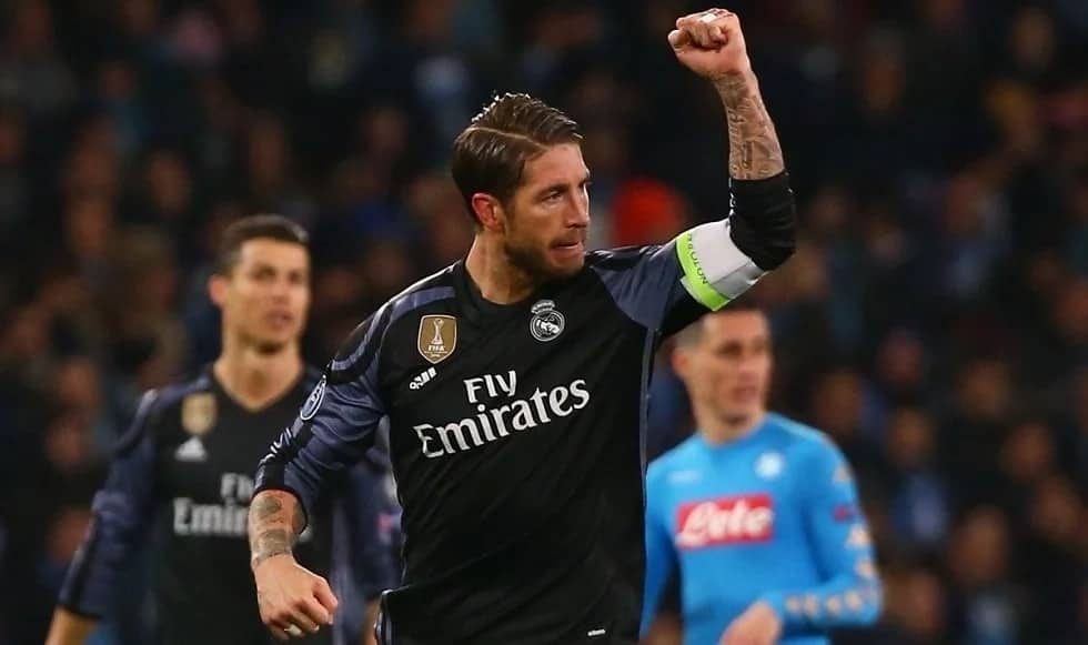 Sergio Ramos banned for Champions League quarter-final second leg against Juventus