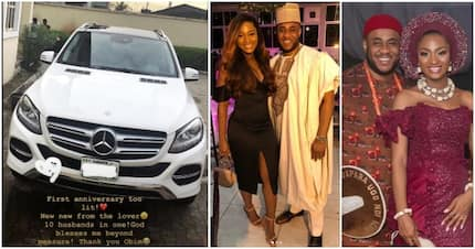 Ex-beauty queen gets SUV as 1st wedding anniversary gift from husband