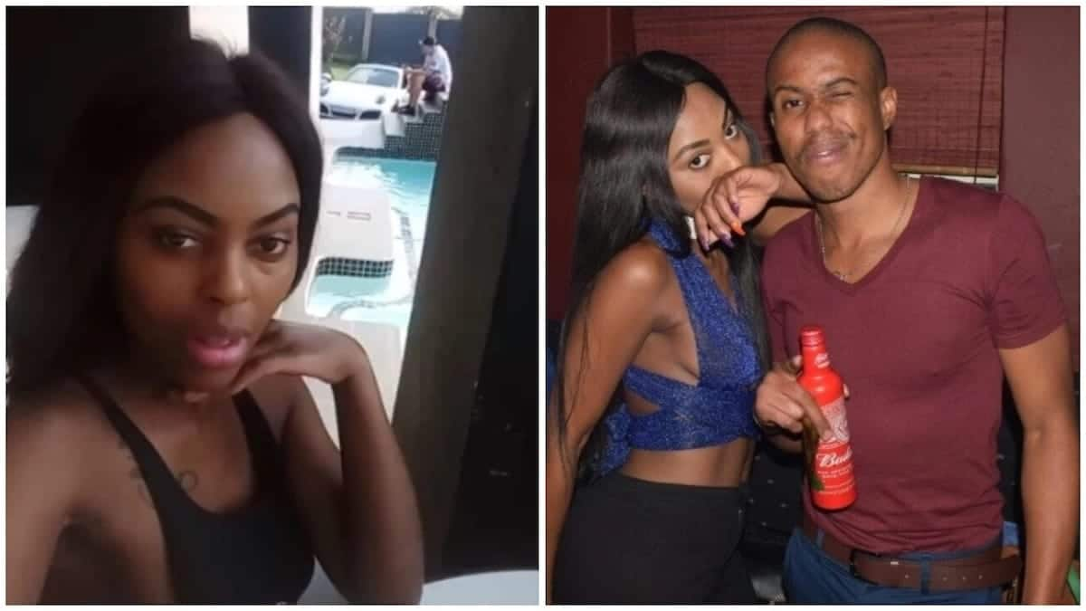 Man catches girlfriend in a lie as she left him to party with Cassper Nyovest