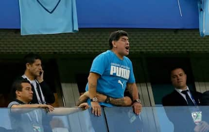 Maradona gets £10,000 (R181k) a day from FIFA for appearance and other expenses
