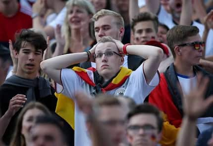 Russia 2018: Germany players and supporters in tears after shocking World Cup exit