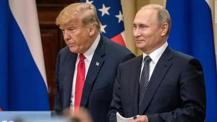 US president Donald Trump invites Putin to White House for second meeting
