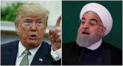 Donald Trump and Iranian president trade explosive words on Twitter