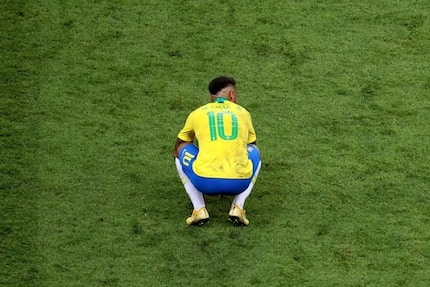 Neymar unwilling to play football again after Brazil's exit from World Cup