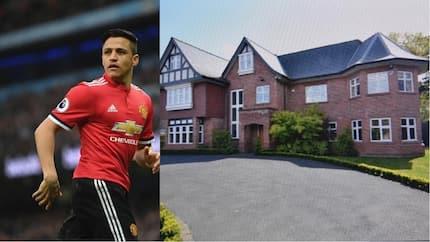 Manchester United star Alexis Sanchez puts up his £1.9m (R34m) mansion for sale