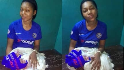 Proud Chelsea fan delivers twin babies during champions league match