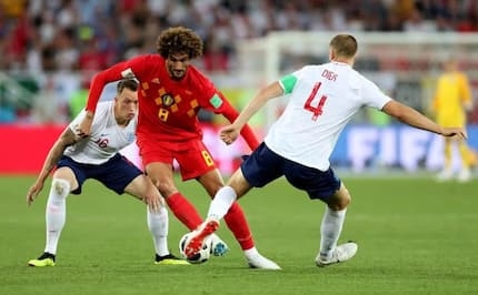 Januzaj scores the only goal as Belgium beat England by 1-0