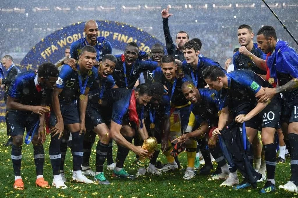 Football fans react as France beat Croatia to win Russia 2018 World Cup in style