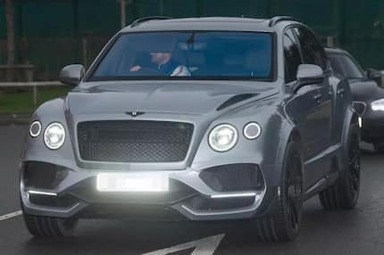 Man City defender Kyle Walker drives a stunning R3.3 million Bentley with a PlayStation inside