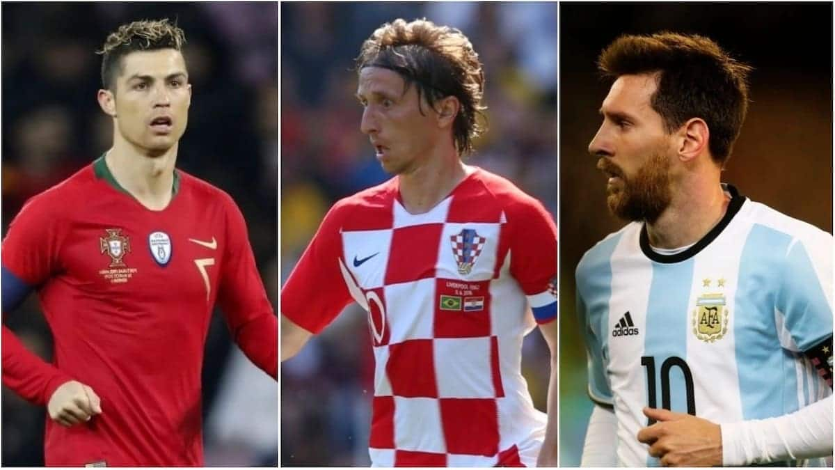 FIFA shortlist Ronaldo, Messi, Hazard others for 2018 best player